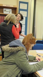 Research evening at the library