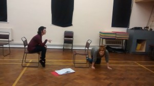 Devising and writing sessions